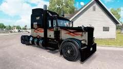 Skin Long Haul for the truck Peterbilt 389