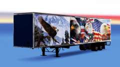 All-metal semitrailer Eagle