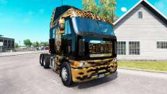 Skin Jaguar on the truck Freightliner Argosy