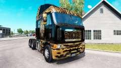Skin Jaguar on the truck Freightliner Argosy
