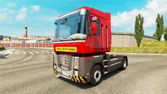 Heavy transport skin for Renault truck