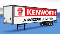 All-metal semi trailer Kenworth