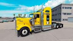 Skin JCB tractor Kenworth W900