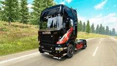 Skin Coca-Cola tractor Scania