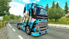 The Argentina Copa 2014 skin for Volvo truck