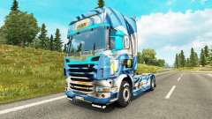 The Argentina Copa 2014 skin for Scania truck for Euro Truck Simulator 2
