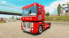 FC Bayern skin for Renault truck