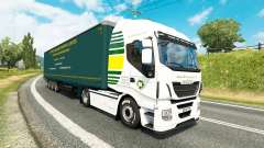 Jeffrys Haulage skin for tractors