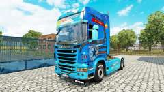 Skin Need For Speed Hot Pursuit on tractor Scani