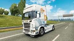 Little Pony skin for Scania truck for Euro Truck Simulator 2