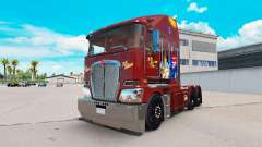 Skin RM Williams on tractor Kenworth K200