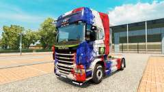 Skin France Copa 2014 for Scania truck