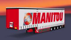 Four-axle curtain semi-trailer Krone v5.0