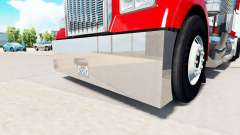 A collection of accessories for tractor Kenworth