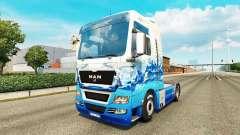 Skin Klanatrans for tractor MAN for Euro Truck Simulator 2