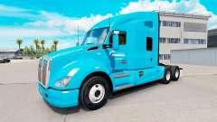 Skin Transport Morneau on a Kenworth tractor for American Truck Simulator