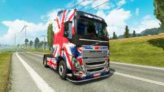 The England Copa 2014 skin for Volvo truck