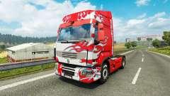 Skin Klanatrans for tractor Renault for Euro Truck Simulator 2