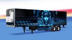 Skin Alienware by refrigerated semi-trailer