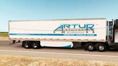 Skin Artur Express on the trailer