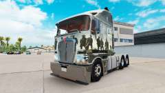 Skin Band Of Brothers on tractor Kenworth K200
