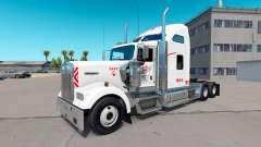Skin Heartland Express, [white] truck Kenworth