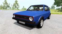 Volkswagen Golf Mk1 for BeamNG Drive