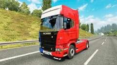 France skin for Scania truck for Euro Truck Simulator 2
