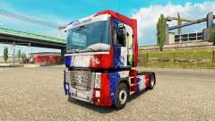 Skin France Copa 2014 on a tractor unit Renault