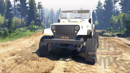 Jeep CJ-7 Renegade [Dixie] v2.0 for Spin Tires