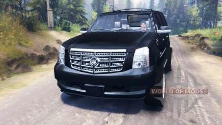 Cadillac Escalade for Spin Tires