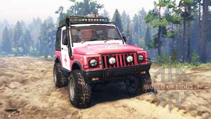 Suzuki SJ 410 for Spin Tires