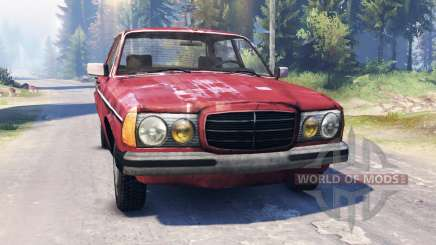Mercedes-Benz 123d v2.0 for Spin Tires