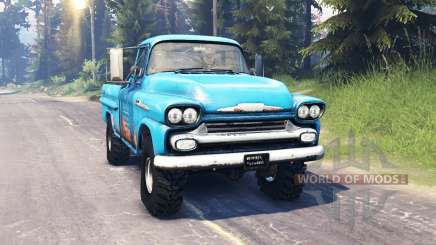 Chevrolet Apache 1959 v5.0 for Spin Tires