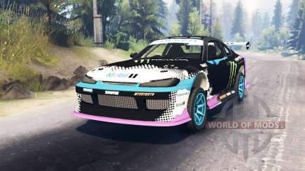 Nissan Silvia S15 Drift for Spin Tires