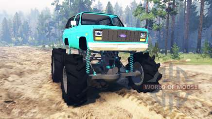 Ford Bronco 1984 for Spin Tires