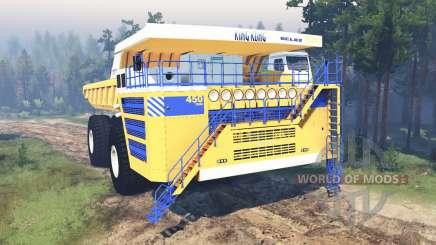 BelAZ-75710 for Spin Tires