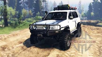 Toyota Land Cruiser 100 2000 [Samuray] v2.0 for Spin Tires