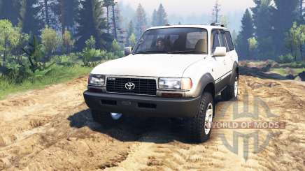 Toyota Land Cruiser 80 VX 1990 v2.0 for Spin Tires