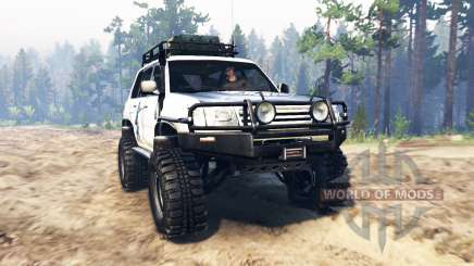 Toyota Land Cruiser 100 2000 [Samuray] for Spin Tires