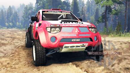 Mitsubishi L200 Triton v2.0 for Spin Tires