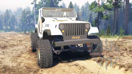 Jeep CJ-7 Renegade [Dixie] for Spin Tires