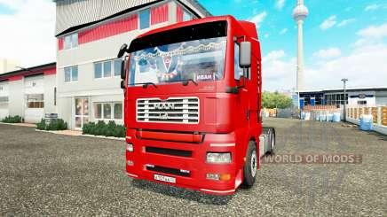 MAN TGA for Euro Truck Simulator 2