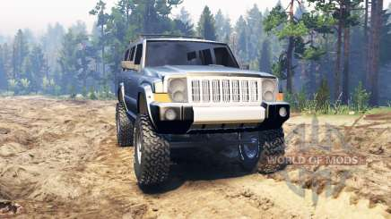 Jeep Commander (XK) for Spin Tires