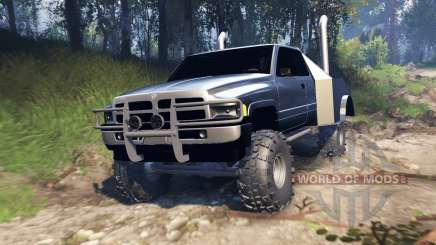 Dodge Ram v2.0 for Spin Tires