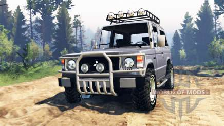 Mitsubishi Pajero I v4.0 for Spin Tires