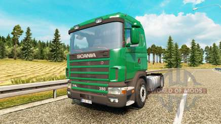 Scania 114L 380 v2.0 for Euro Truck Simulator 2