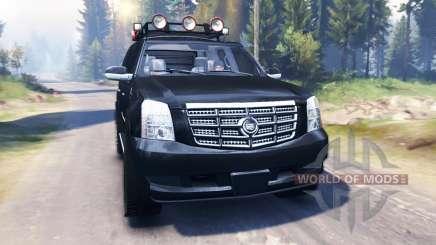 Cadillac Escalade v2.0 for Spin Tires