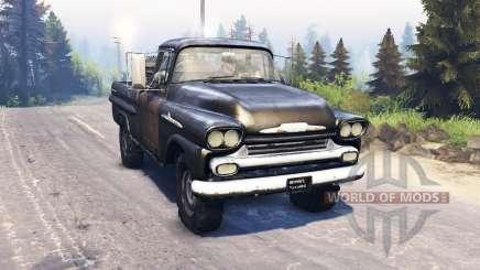 Chevrolet Apache 1959 v3.0 for Spin Tires