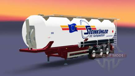 The semitrailer-tank Steinkuhler for Euro Truck Simulator 2